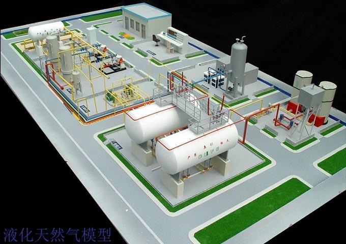 天津奥利达高压混气站系统沙盘