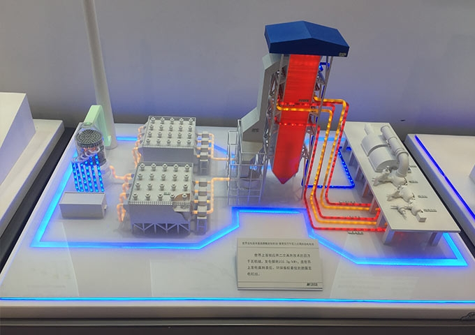 百万千瓦二次再热发电设备模型