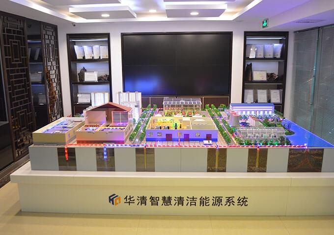 华清清洁新能源系统模型