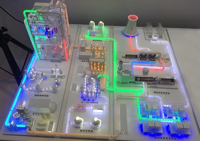 天津IGCO示范电厂设备模型