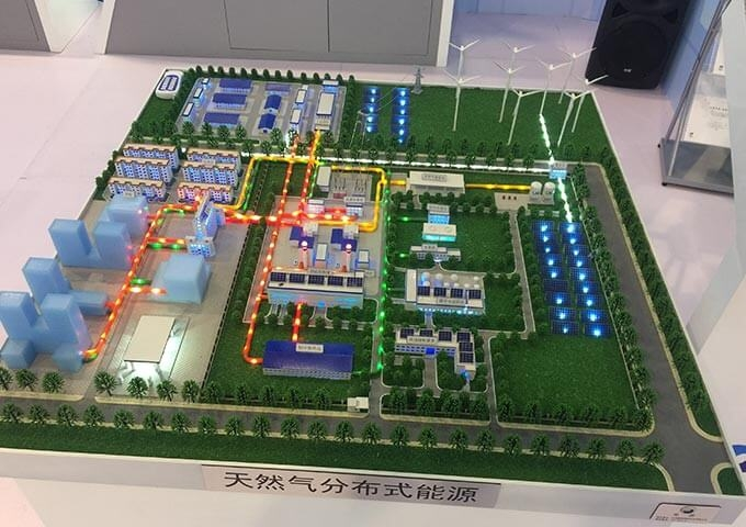 天然气能源模型
