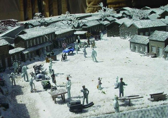 场景雕塑复原展示模型 (2)