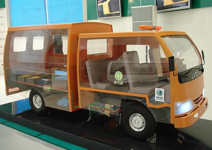 国网电力车辆展示