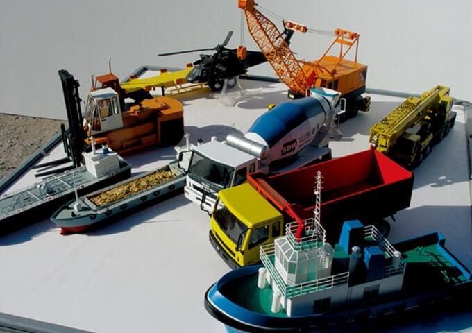 工程车辆模型