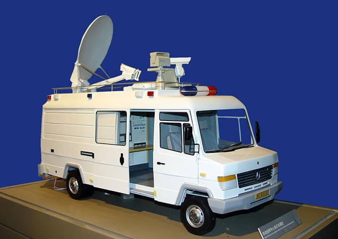 移动通讯指挥中心车模型