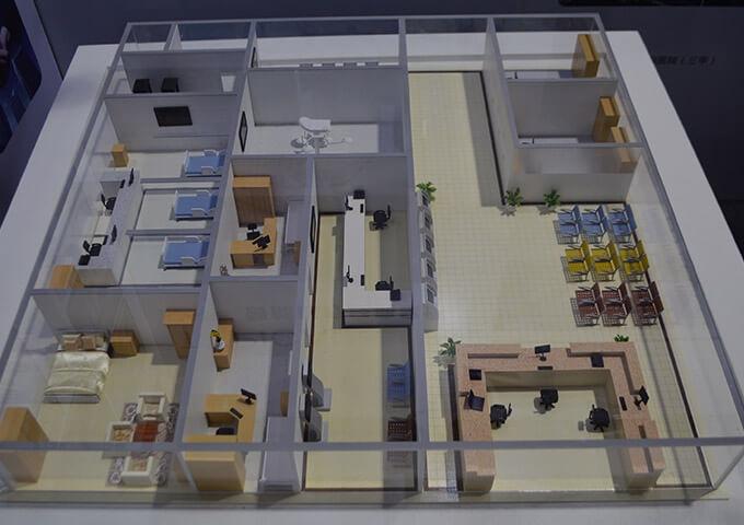 医院功能区模型