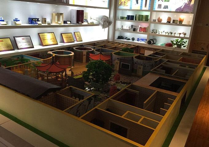 科美汗蒸房展示模型