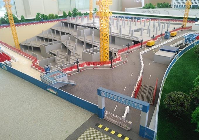 中建三局中船项目施工模型
