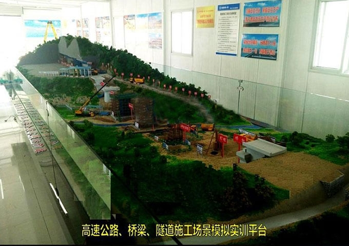 八达岭隧道模型