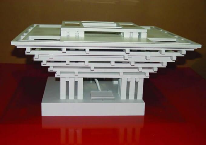 2010上海世博会中国国家馆设计方案模型