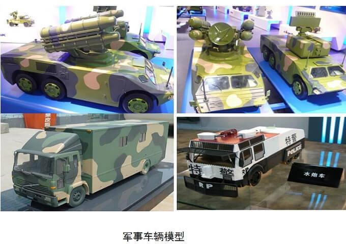 军事车辆模型